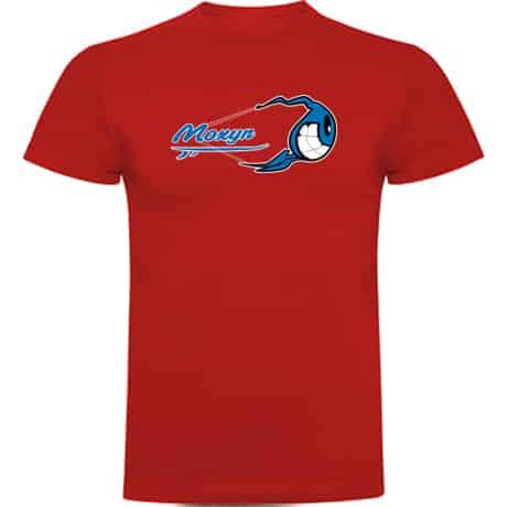 Camiseta Hombre Roja Kite surfing Moxyn