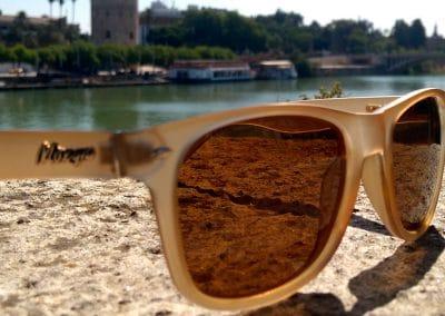 Gafas de sol Polarizadas Color camel Torre del Oro Sevilla catalogo