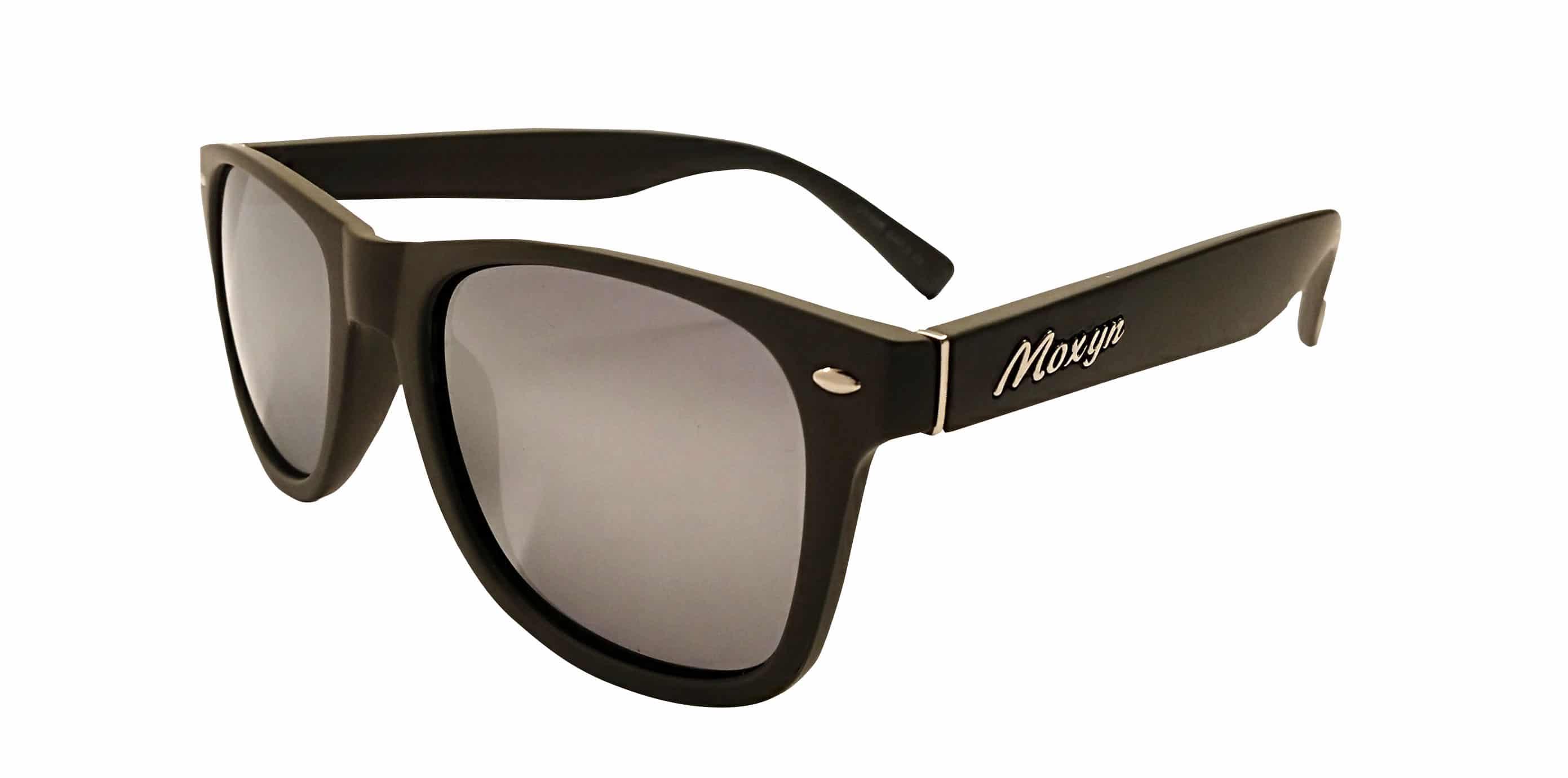 Gafas de sol gris plata