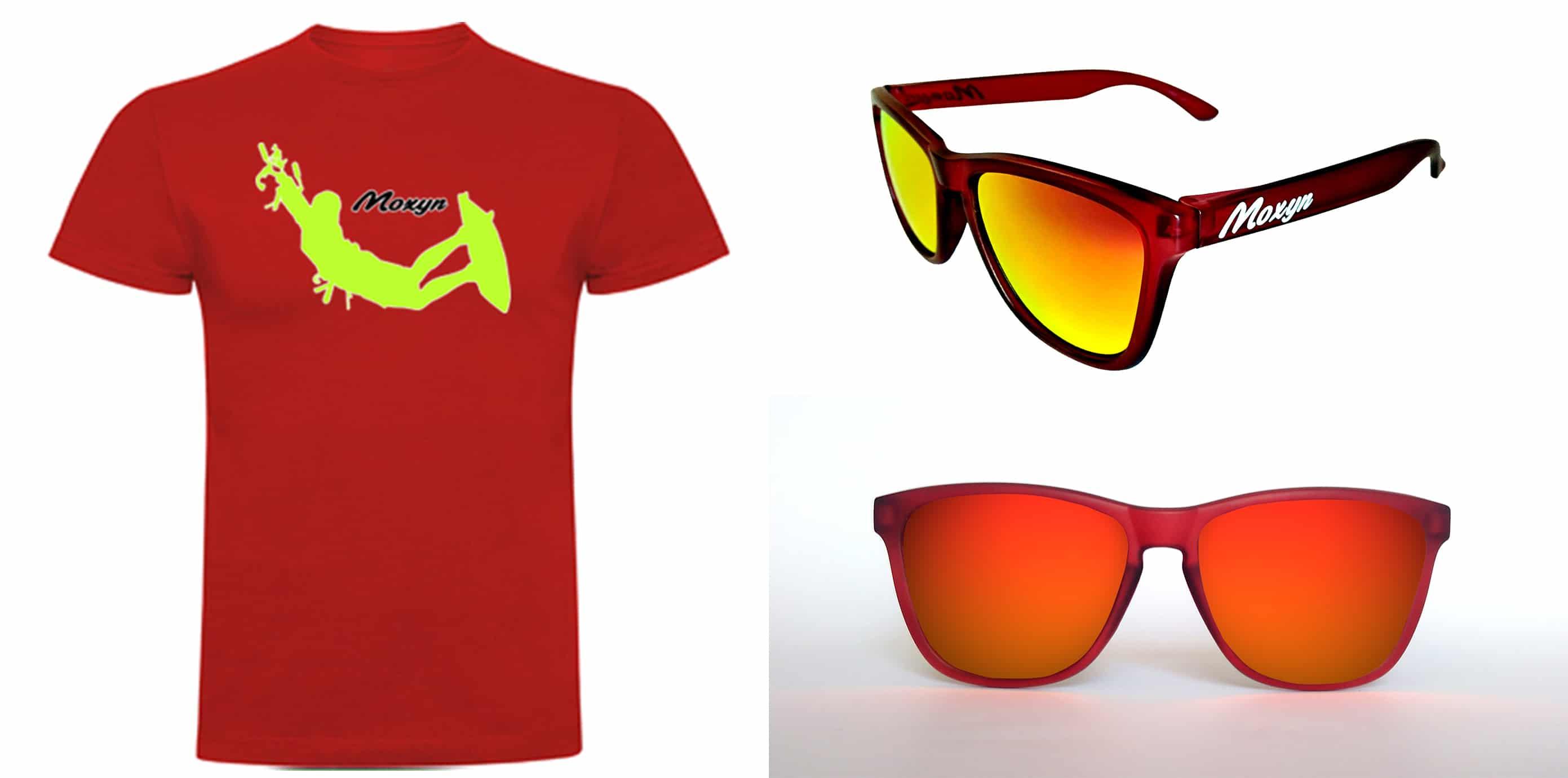 Camiseta SolSol Roja Online Gafas De Surfing Hombre Kite UpVSzM